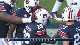 Auburn Football vs LSU Highlights