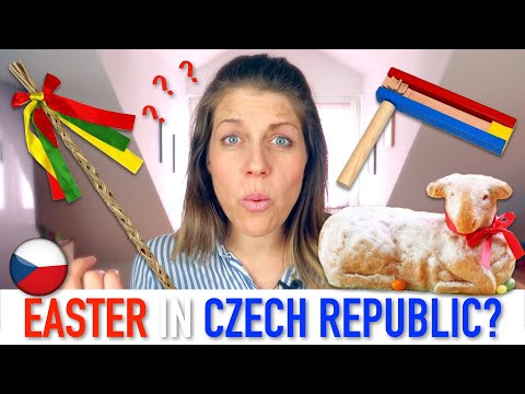 EASTER IN CZECH REPUBLIC (How They Celebrate Easter And What's The Deal With The Easter Whip?)