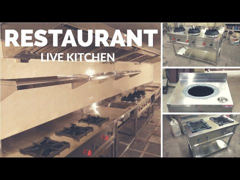 रेस्टोरेन्ट / होटल किचन Restaurant / Hotel Kitchen Designing setup ideas in  Hindi Urdu English.