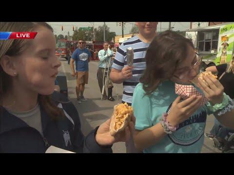 Fall Festival Helfrich Park STEM Academy Food Relay
