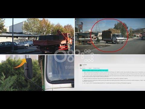 Vëzhgimi i BOOM/ Kamionët me ngarkesa nuk respektojnë elementët e sigurisë (27 dhjetor 2017)