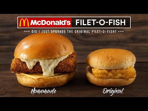 Making Mcdonald's FILET-O-FISH Homemade | Sous Vide Everything