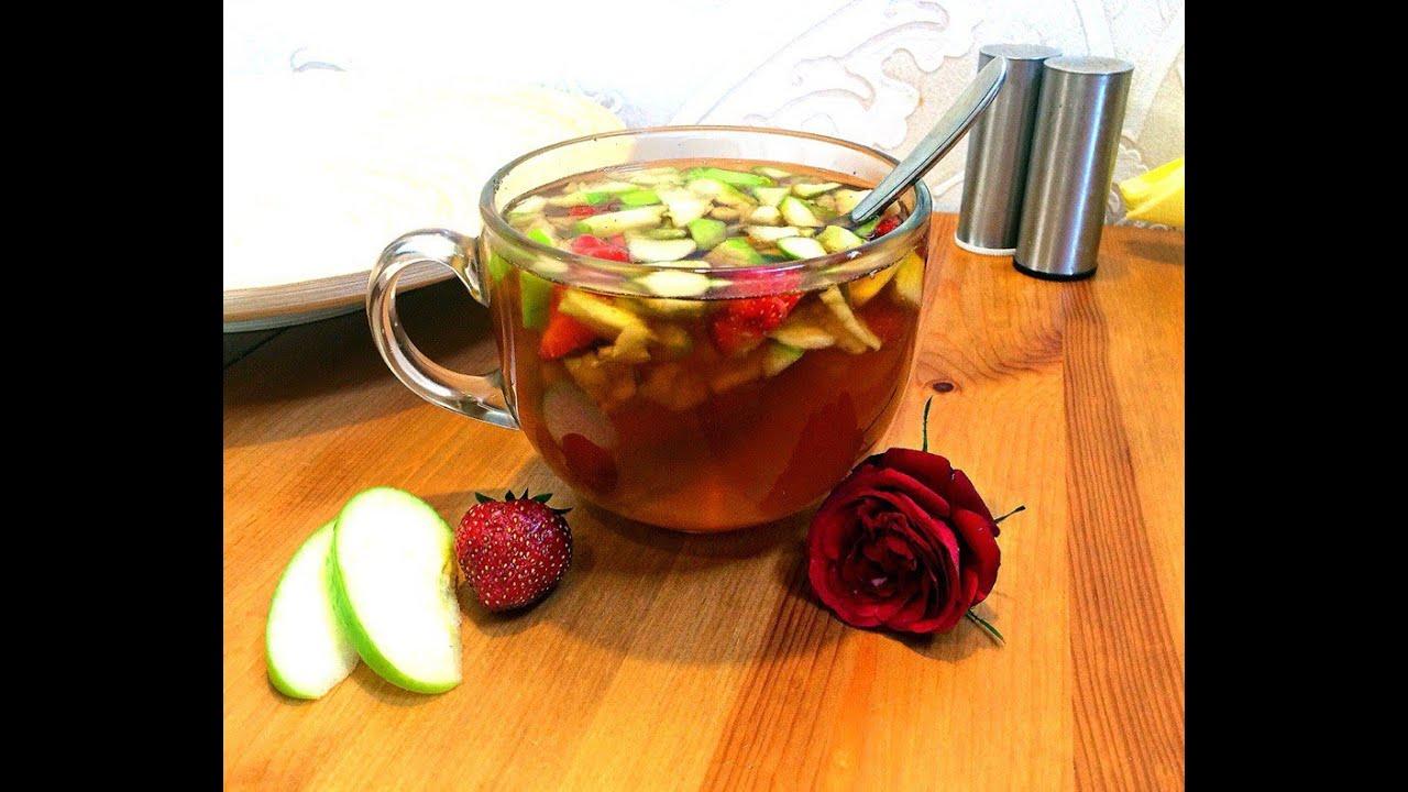 Рецепт фруктового чая в домашних условиях