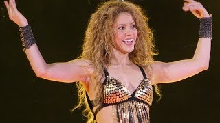 shakira   whenever  wherever   live paris 2018
