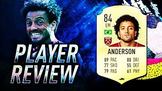 FIFA 20 FELIPE ANDERSON PLAYER REVIEW! 84 ANDERSON PLAYER REVIEW! FIFA 20 ULTIMATE TEAM!