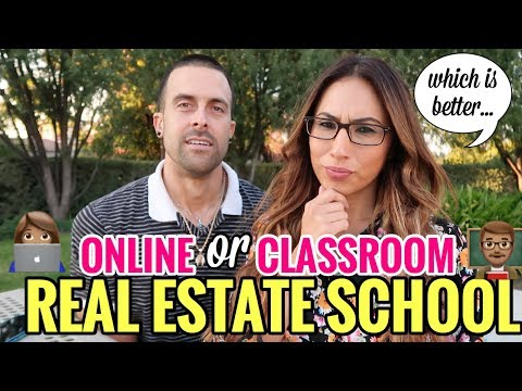 getting-your-real-estate-license:-online-school-vs-classroom