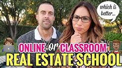 Getting Your Real Estate License: Online School vs Classroom