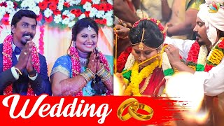 Vijay Tv KPY Sarath Wedding Video | Kiruthika, Cook with Comali
