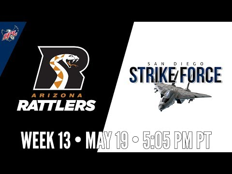 IFL Week 13 | Arizona Rattlers at San Diego Strike Force
