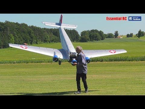 SUPER SCALE RC Junkers Ju 52 Tante Ju (\
