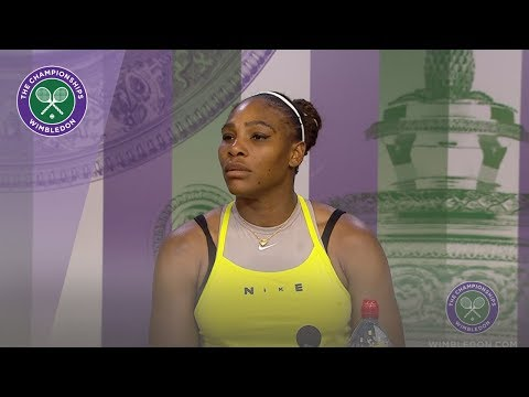 Serena Williams Quarter-Final Press Conference Wimbledon 2019
