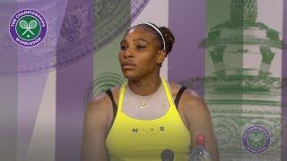 Serena Williams Quarter-Final Press Conference Wimbledon 2019