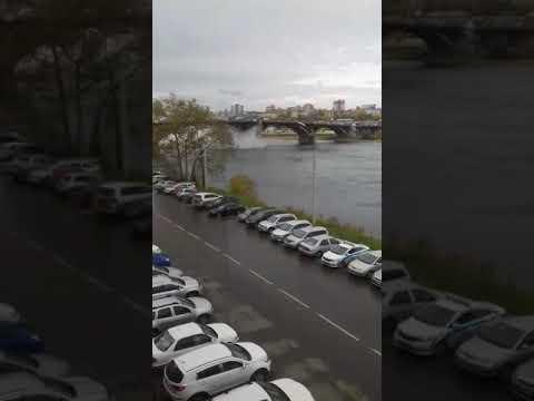 Лопнула труба под мостом Иркутск