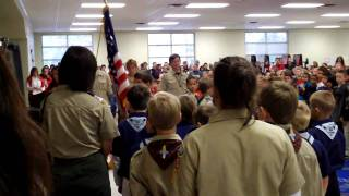 Color Guard - Veterans Day Ceremony