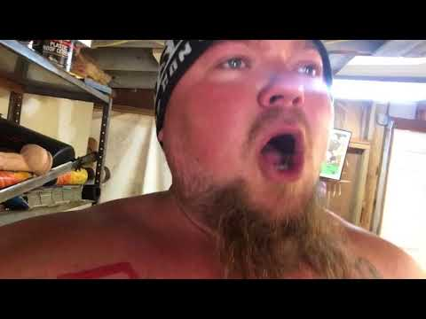 Redneck eats 2 Paqui worlds hottest chips with Louisiana hot sauce !!!