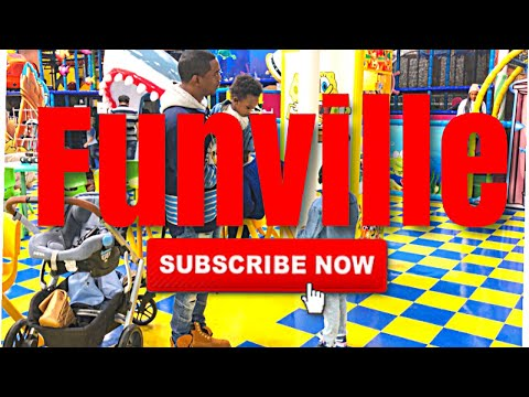 Family FUN AT FUNVILLE playground and cafe