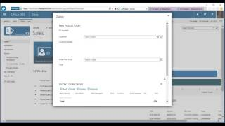 Surfacing CRM data in a SharePoint Form
