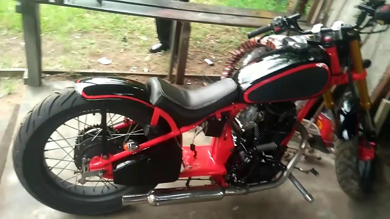 Woooow Kereeen Honda Tiger Modif Harley Davidson YouTube