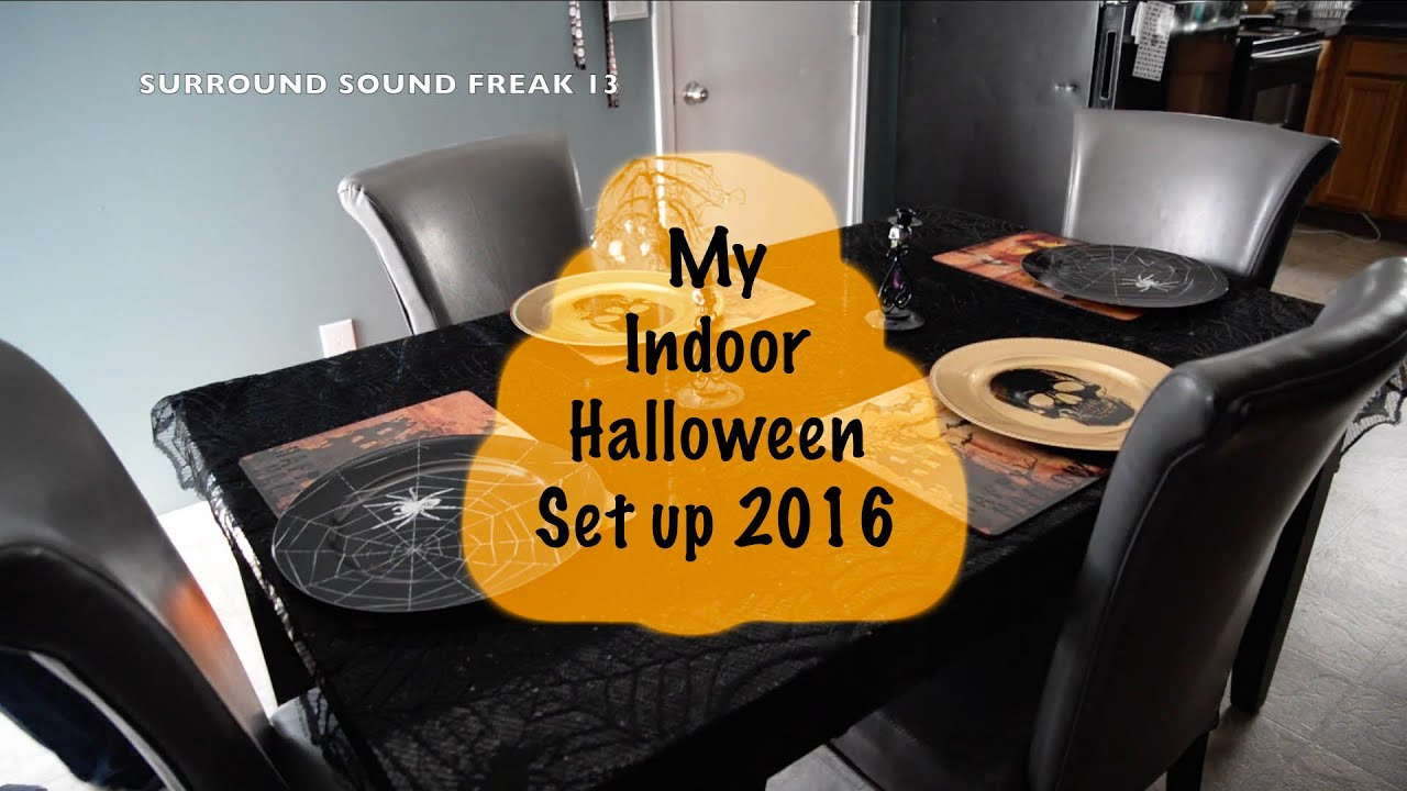 my indoor halloween decorations 2016