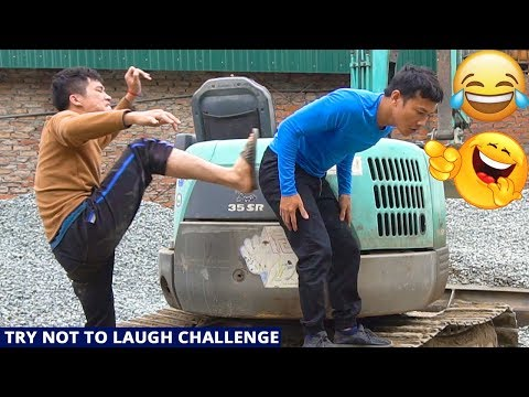TRY NOT TO LAUGH CHALLENGE with Funny Mango Eating 😂 Comedy Videos by Sml Troll - Ep.15