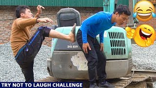 TRY NOT TO LAUGH CHALLENGE with Funny Mango Eating