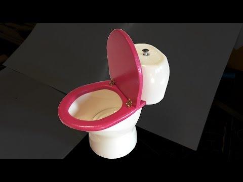 Fabriquer des WC pour maison de poupée Barbie