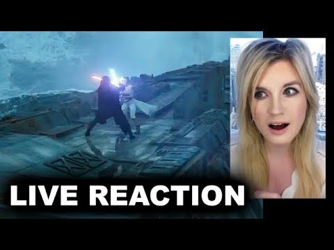 Star Wars The Rise of Skywalker D23 Special Look REACTION