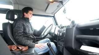 Land Rover Defender 90 реальный владелец АС тест драйв
