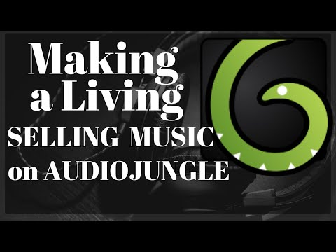 Making a living by selling music on AudioJungle