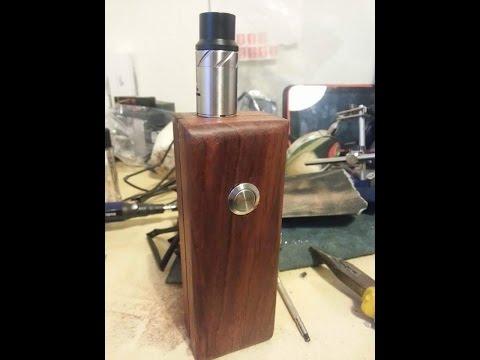 Home made wooden mech mod