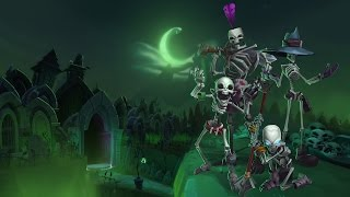 Dungeon Defenders II:  Grave Danger Costume Pack