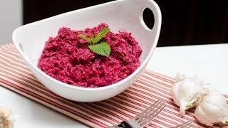 САМЫЙ ПРОСТОЙ САЛАТ! СВЕКЛА С ЧЕСНОКОМ! Вкусный и простой рецепт салата.
