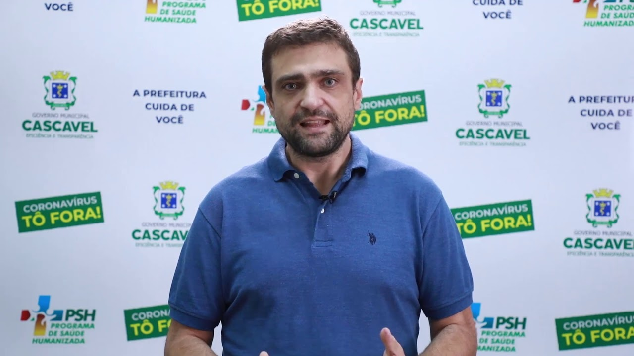 COMUNICADO DO SECRETÁRIO DE SAÚDE DE CASCAVEL THIAGO STEFANELLO | NOVO DECRETO Nº 15.313/2020