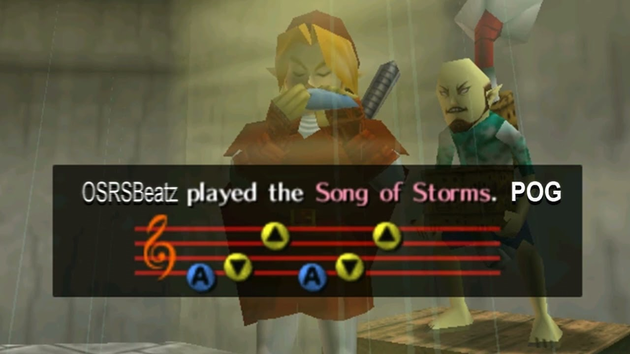 The Legend of Zelda - Song of Storms (Trap Remix)