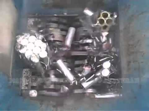 Измельчение литиевых батареек