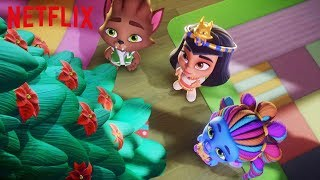 Jingle Bells and Holiday Spirit   Super Monsters and the Wish Star   Netflix thumbnail