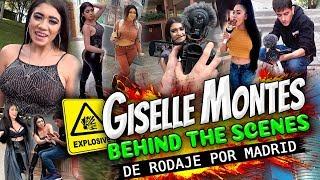 Detrás de las cámaras con Giselle Montes: lo que no pudiste ver en la escena de FF
