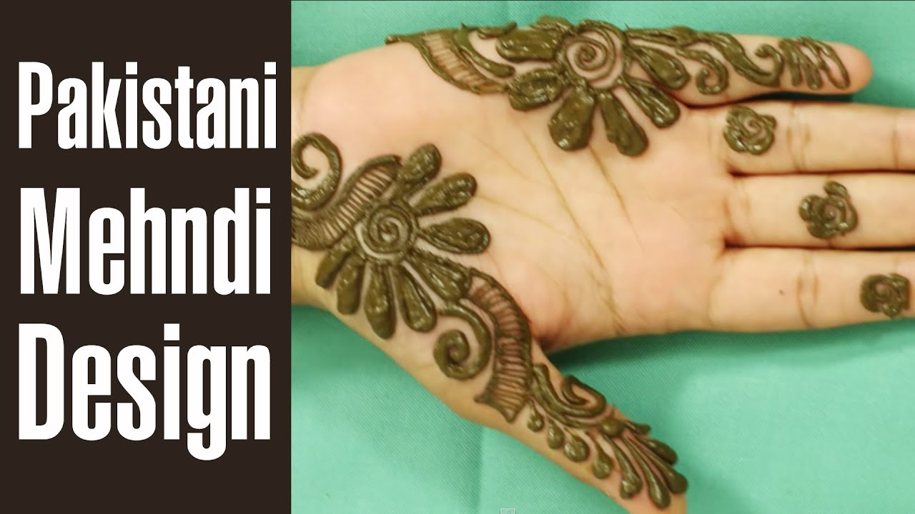 Traditional pakistani mehndi designs 2016 video for Pakistani simple house designs