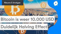 Bitcoin nieuws vandaag: Koers is 10.000 DOLLAR! | Waarom dit nog maar het begin is