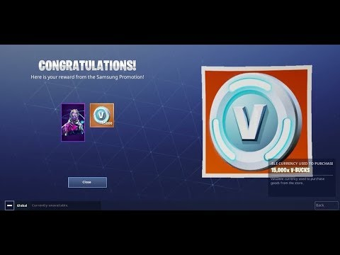 How I Finally Got My 15,000 V-Bucks!!!!!