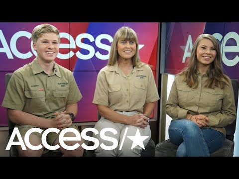 Bindi, Robert & Terri Irwin Share Their Excitement For Steve Irwin's Walk Of Fame Star | Access