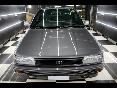 Toyota Corolla 1990 Detailing Overview