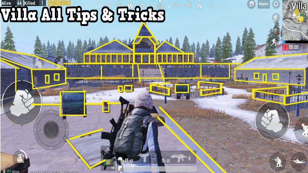 All New Villa Tips And Tricks Vikendi Map Pubg Mobile Youtube