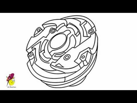 how to make easy paper beyblade
