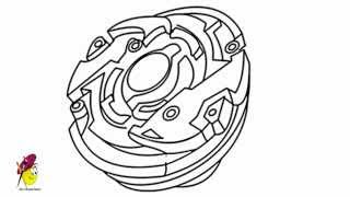 Beyblade - How to draw your own Beyblade