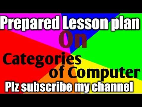 b ed lesson plan of Computer science   b ed lesson plan for Computer science