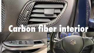 Baleno Interior Modified |Wooden interiors |Hydro painting |Interior modified for all cars