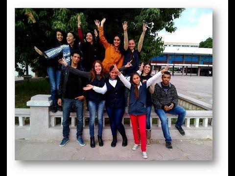 Presentación de los alumnos de Grombalia, Túnez
