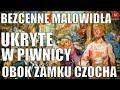 Malowidła ukryte koło zamku #Czocha. Depozyt warty miliony euro leżał w piwnicy domu w Baworowej
