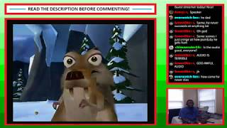 Livestream #45 - Ice Age 2: The Meltdown (Wii) - Part 1 (feat. TanNort) [BLIND]
